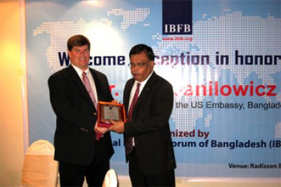 IBFB gave reception to new Deputy Chief of Mission of the US Embassy