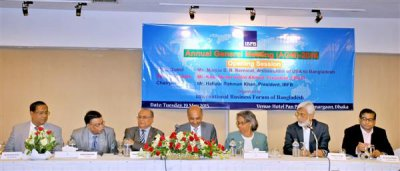 The 10th Annual General Meeting of IBFB was held on 19th May 2015 in Dhaka