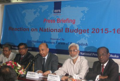 Reaction of IBFB on National Budget 2015-16