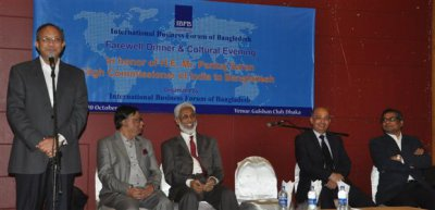 Indo-Bangla relationship is firmly footed now, Mr. Pankaj Saran in IBFB's Farewell Dinner & Cultural Evening