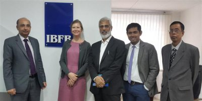 Representative of CIPE from USA visits IBFB Office in Dhaka