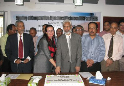 IBFB signs agreement with BICF to strengthen business reform research and advocacy capacity