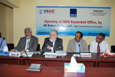Canadian HC inaugurates the extended facilities of IBFB