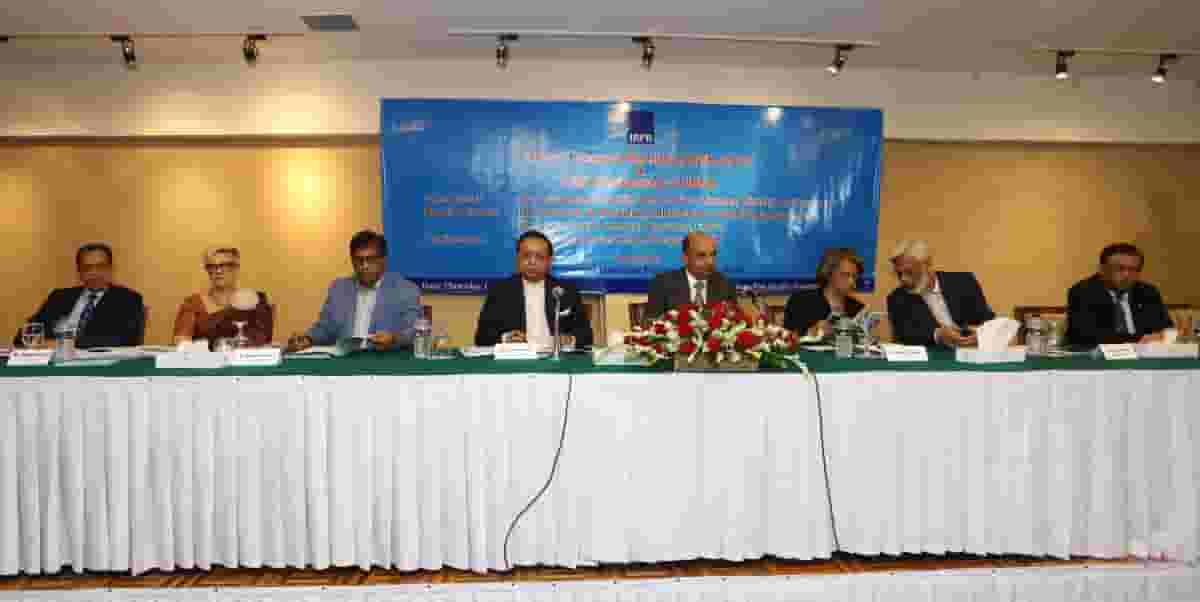 IBFB celebrated its 10th Anniversary and Annual General Meeting 2015 in Dhaka, Mr. Hafizur Rahman Khan, Mr. Md. Omar Shafayat Kausar and Mr. Humayun Rashid have been reelected as the President, Vice President and Vice President (Finance) of IBFB respectively.