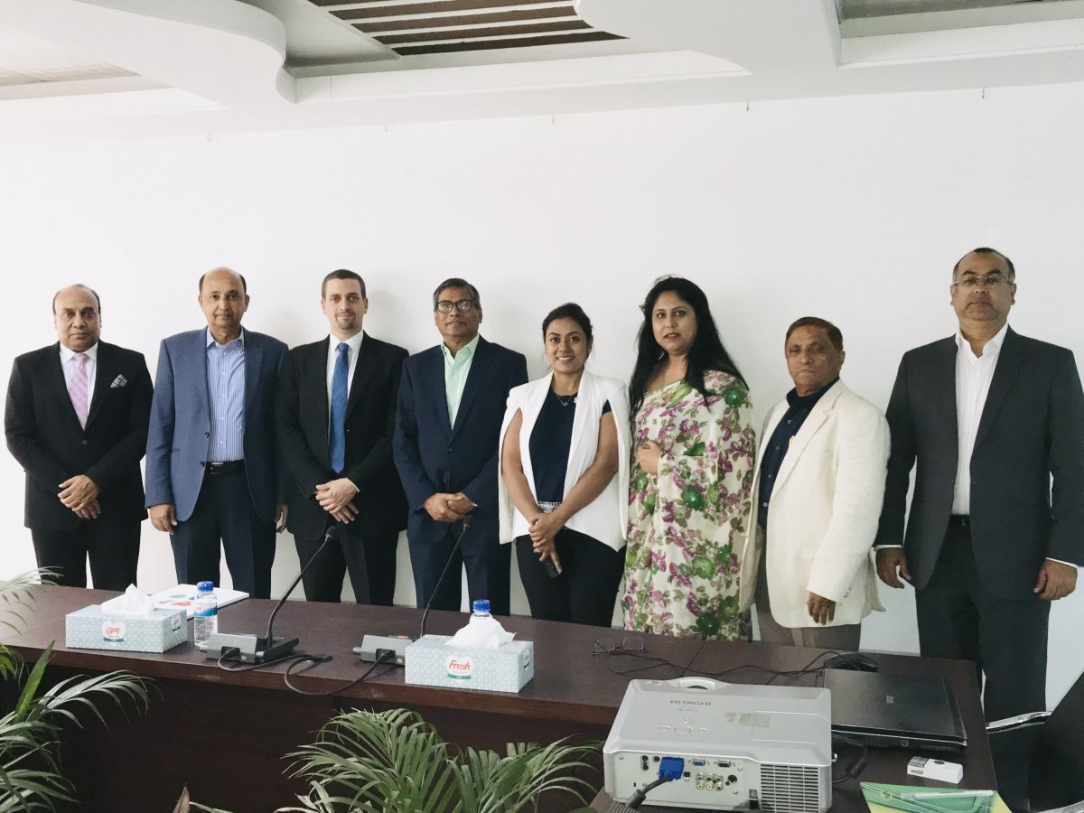 Mr. Hubert Goffinet, Trade Commissioner, Embassy of Belgium and hon'ble Directors/Members of International Business Forum of Bangladesh (IBFB) had a discussion meeting.