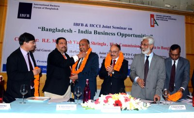 "IBFB & IICCI Joint Seminar on ""Bangladesh-India Business Opportunities"""