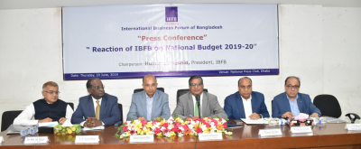 Press Conference: Reaction of IBFB on National Budget 2019-20